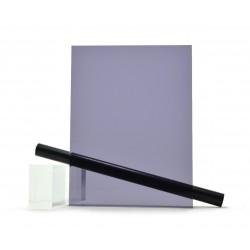 PMMA (Plexi) Fumé Gris Bleu Brillant ep 8 mm