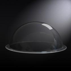 Demi Bulle Plexi transparent diam 150 ep 3 mm 2