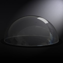 Demi sphere PMMA (Plexi) Incolore diam 250 mm 2
