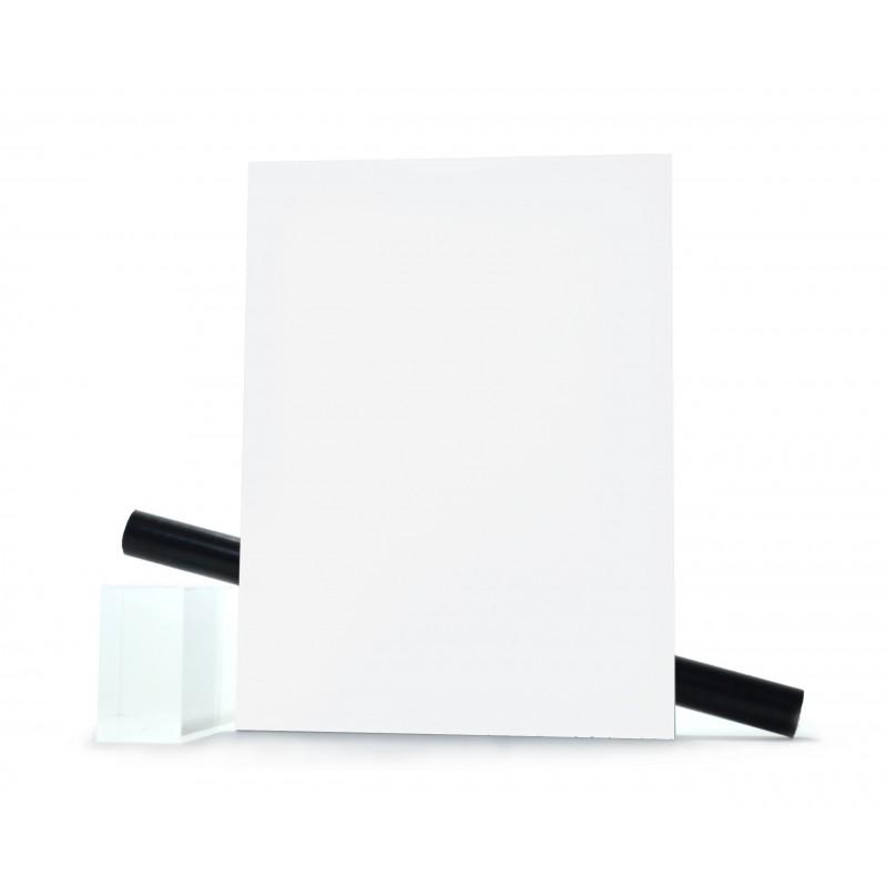 PMMA (Plexi) Blanc Brillant ep 5 mm
