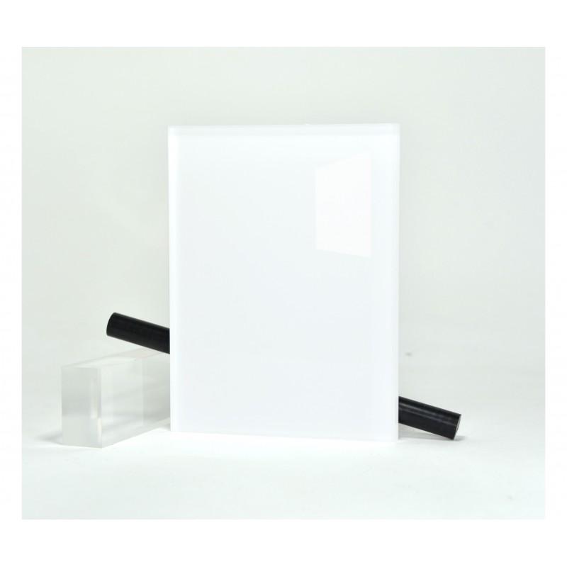 Plexiglas Hi-Gloss Blanc ep 6 mm