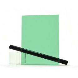 Plaque Plexi Fumé vert pour bateau ep 8 mm