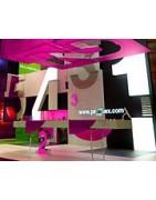 Plexiglass pour la Déco et l'aménagement de Stands | Lacrylic shop™