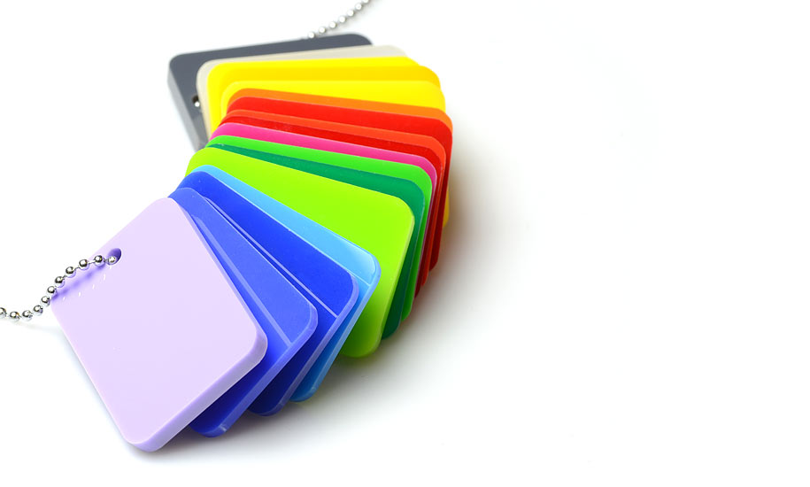 Plaques Plexiglass de Couleur sur Mesure